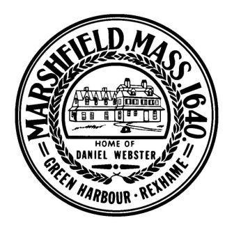 Marshfield, MA Daniel Webster Logo