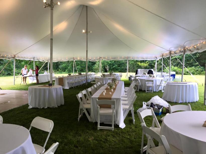 DANIEL WEBSTER EVENTS TENT