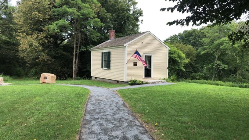 The Law Office has been returned to the grounds of the Daniel Webster Estate and subsequently restored.
